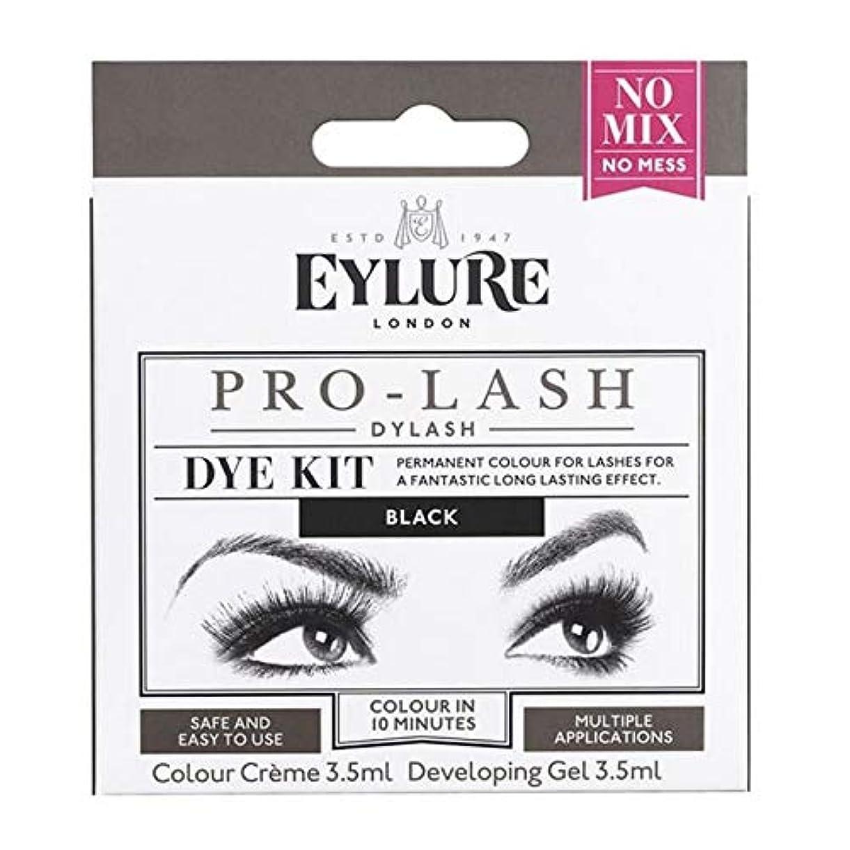 骨見出しとティーム[Eylure] Eylure Dylashまつげティント黒 - Eylure Dylash Eyelash Tint Black [並行輸入品]
