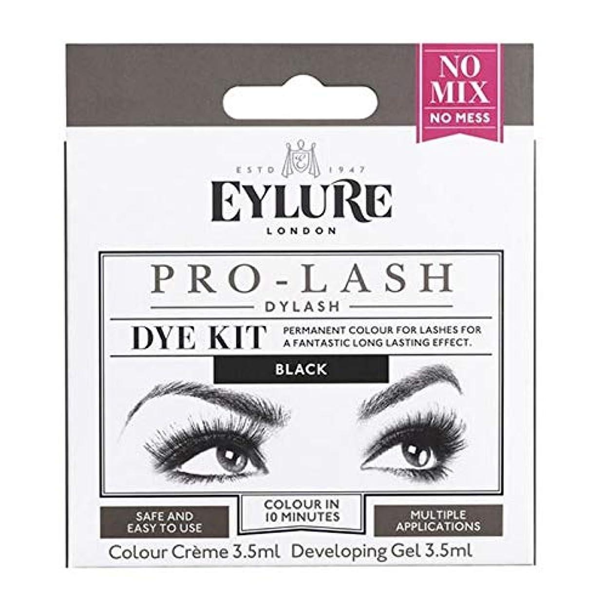 閃光休憩するみなす[Eylure] Eylure Dylashまつげティント黒 - Eylure Dylash Eyelash Tint Black [並行輸入品]
