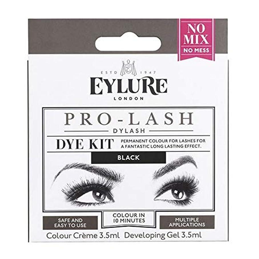 拍手するなぜならトリクル[Eylure] Eylure Dylashまつげティント黒 - Eylure Dylash Eyelash Tint Black [並行輸入品]