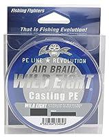 Fishing Fighters(フィッシングファイターズ) PEライン エアブレイド ワイルドエイト キャスティングPE 150m 1.5号 30.5lb ホワイト FF-ABWC150-1.5
