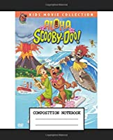 Composition Notebook: Shaggy And Scooby Scooby Doo American Animation Wide Ruled Lined Taking Notes Writing Workbook Teenage Girls Boys Kids Adults School Paper 7.5 x 9.25 Inches 110 Pages