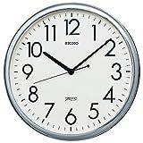 セイコー クロック 掛け時計 アナログ オフィスタイプ 銀色 KH220A SEIKO
