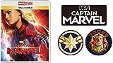 【Amazon.co.jp限定】キャプテン・マーベル MovieNEX(オリジナルステッカー3枚セット付き)[ブルーレイ+DVD+デジタルコピー+MovieNEXワールド] [Blu-ray]