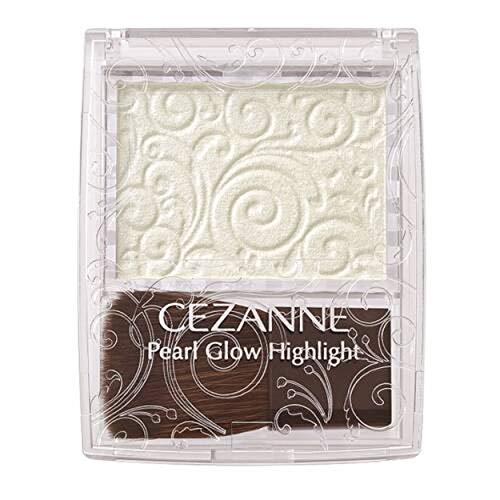 セザンヌ セザンヌ CEZANNE パールグロウハイライト 03 オーロラミント 2.4gの画像