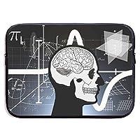 脳 天才 数学 パソコンバッグ ラップトップ収納カバン インナーバッグ PCケース ノートパソコンケース 360°保護ケース 13インチ 衝撃吸収