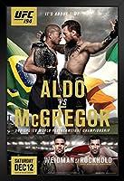 ProFrames UFC194 ジョゼ・アルド vsコナー・マクレガー スポーツフレームポスター 12x18。 12  x 18  Inch