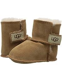 [UGG(アグ)] ベビーシューズ?スリップオン?クリブシューズ?靴 Erin (Infant/Toddler) Chestnut XS (US 0-1 Infant) (XS (0-2ヶ月)) M