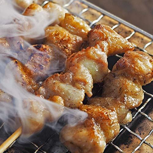 焼き鳥 塩 50本 こってりセット (もも10本 せせり10本 はらみ10本 鶏トロ10本 ぼんじり10本) BBQ バーベキュー ギフト 贈り物 国産鶏 おつまみ 惣菜 肉 生 チルド 冷凍