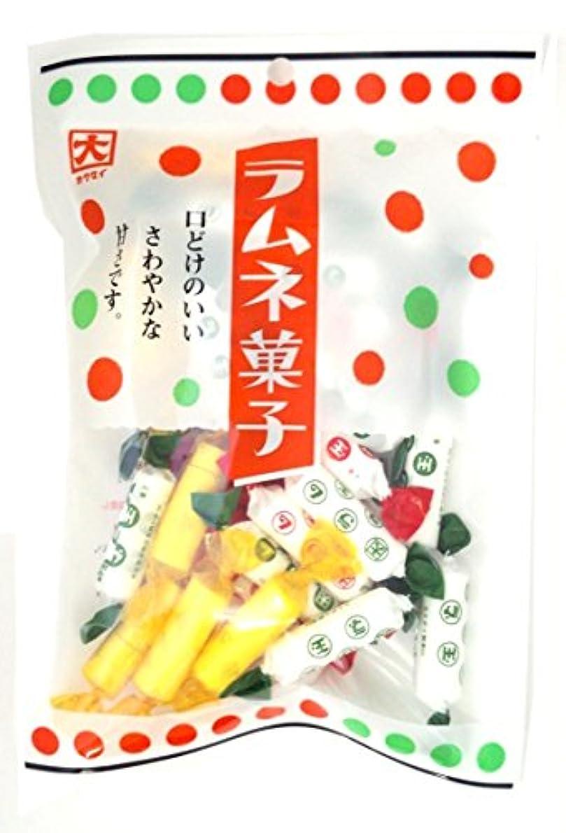 セールスマン変形する一晩カクダイ製菓 ラムネ菓子 100g×10袋