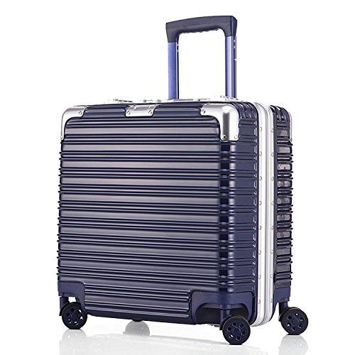 (アスボーグ)ASVOGUE スーツケース キャリーケース 復古風 TSAロック 鏡面仕上げ アルミフレーム 旅行 超軽量 ファスナーレス 機内持込おOK キャリーケース