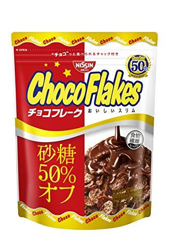 日清シスコ チョコフレークおいしいスリム砂糖50% オフ 63g×12袋
