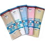 日本製 腹巻き メンズ レディース 男女兼用 薄手 はらまき 大きい サイズ 男性用 女性用 ユニセックス 綿 素材 (ホワイトL)
