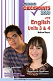 Cover of Cambridge Checkpoints VCE English Units 3 and 4 2010
