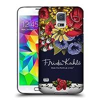 Official Frida Kahlo ブルーム レッド・フローラル ハードバックケース Samsung Galaxy S5 / S5 Neo