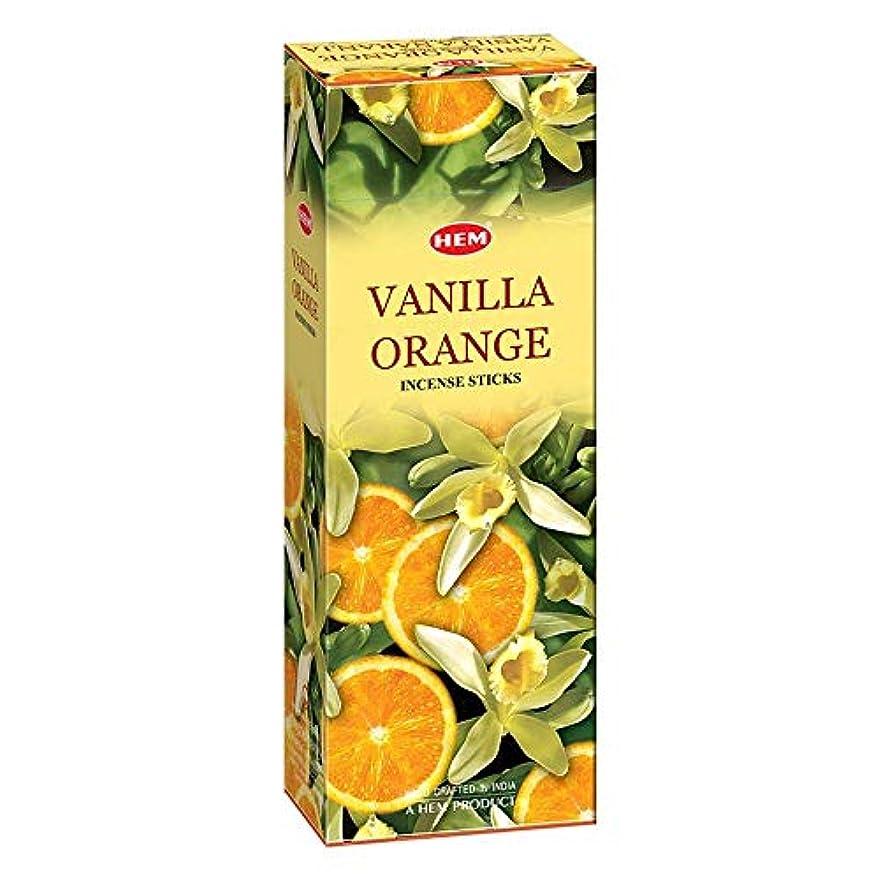 選択に賛成コードヘムバニラオレンジ120本お香スティック