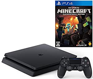 PlayStation 4 ジェット・ブラック 500GB(CUH-2000AB01)+ Minecraft: PlayStation 4 Edition