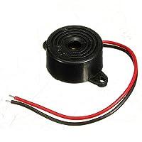 3-24 ボルト ピエゾ電子トーン ブザー警報95db連続音12 ボルト取付穴