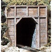 N Singleトンネルポータル、Timber