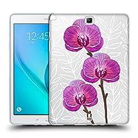 Head Case Designs オーキッド ウォーターカラー・フラワーズ 2 Samsung Galaxy Tab A 9.7 専用ソフトジェルケース