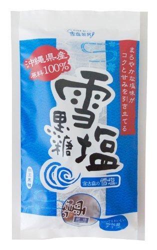 雪塩黒糖/黒糖本舗 宮古島のお土産