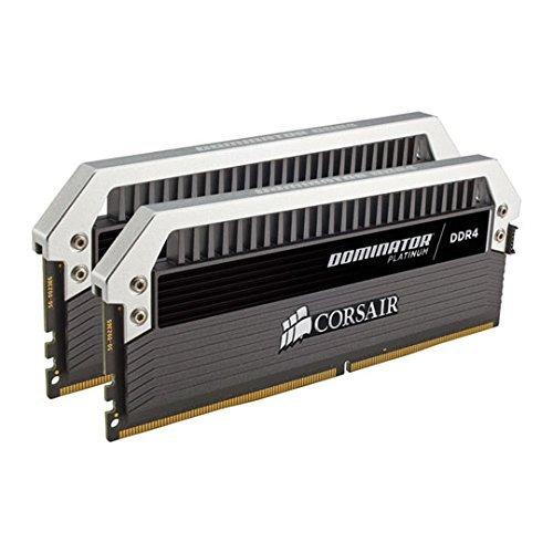 CORSAIR DDR4 メモリモジュール DOMINATOR PLATINUM シリーズ 8GB×2枚キット CMD16GX4M2B3200C16