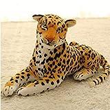 ぬいぐるみ 特大 ライオン /タイガー 大きい 動物 可愛い ライオンぬいぐるみ/ライオン 縫い包み/ライオン抱き枕/お祝い/ふわふわぬいぐるみ豹 (110cm)