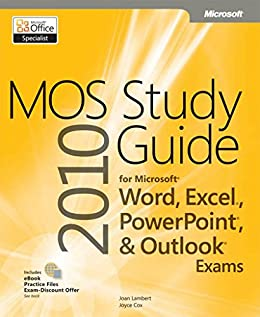 amazon co jp mos 2010 study guide for microsoft word excel