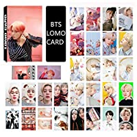 Saitrewed-BTS 防弾少年団 MAP OF THE SOUL PERSONA LOMOカード 30枚 BTS 写真 ニューアルバム BOY WITH LUV 応援グッズ はがき フォトカードセット 人気 ギフト for a.r.m.y(朴智旻)