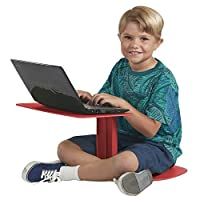 ECR4Kids The Surf Portable Lap Desk/Laptop Stand/Writing Table Red 【Creative Arts】 [並行輸入品]