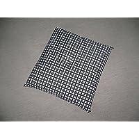エブリ寝具ファクトリー 七宝柄 座布団 55x59cm 紺色 日本製