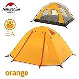 NatureHike 3人用 アウトドア テント 3 シーズン 二重層テント 超軽量キャンピングテント