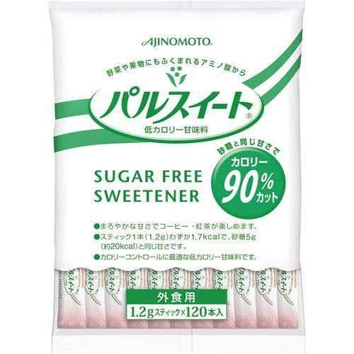 味の素 パルスイート スティック 業務用 (1.2g×120本)×3袋