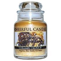 A Cheerful Giver Caramel Crunch Jarキャンドル 6oz CB66