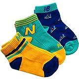 ニューバランス スニーカー [3足組] キッズソックス 靴下 男児 NB ニューバランス スニーカーソックス 13-19cm