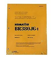 Komatsu br380jg-1モバイルCrusherモバイルCrusherワークショップ修理サービスマニュアル–部品番号# sebd034102