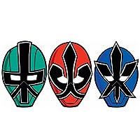 Power Rangers Samurai Paper Masks パワーレンジャーサムライ紙マスク♪ハロウィン♪クリスマス♪