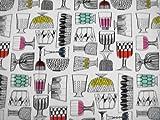【マリメッコ   marimekko キップスKippis-fabric 】 オーダーカーテン W(幅)190cm (幅190cm(95cm2枚組)×高さ170cm)