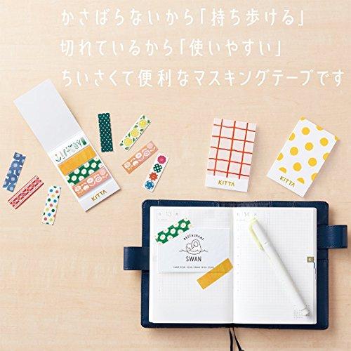 キングジム ちいさく持てるマスキングテープ KITTA(キッタ) ドット KIT003