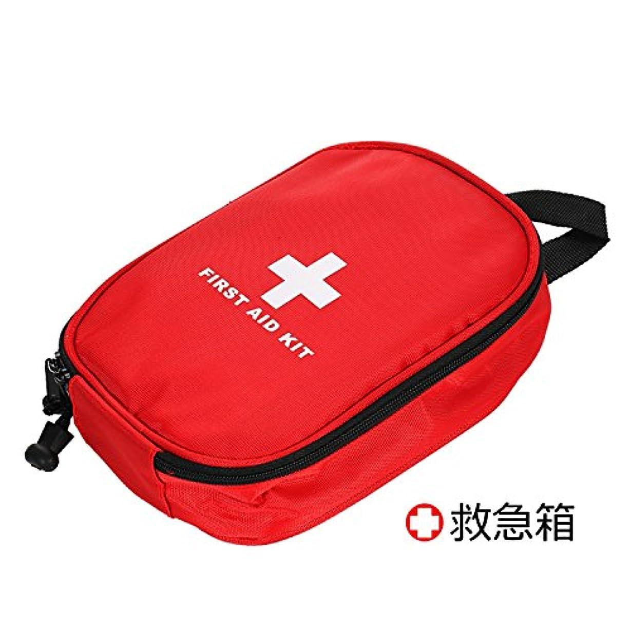 交通リスナーランデブー救急セットファーストエイドキット応急処置アウトドア携帯用救急箱 メディカルポーチ旅行 家庭 防災セット(13種類63セット)