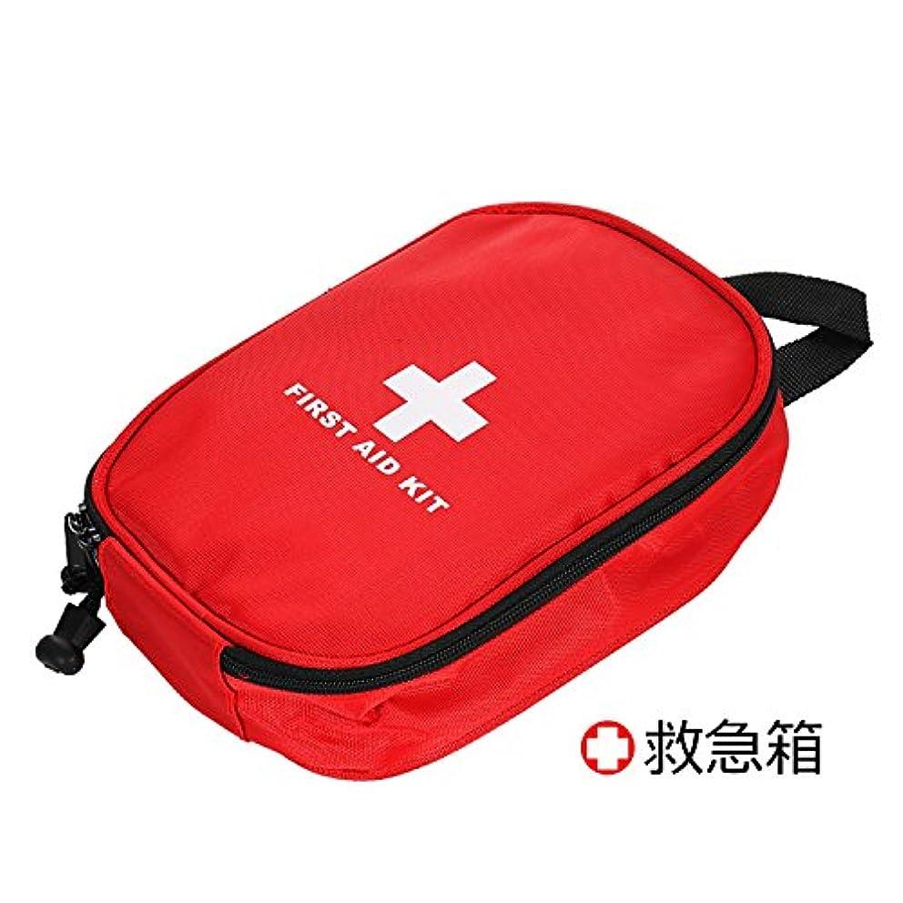 気をつけて購入インシュレータPro-nicee 救急セットファーストエイドキット応急処置アウトドア携帯用救急箱 メディカルポーチ旅行 家庭 防災セット(13種類63セット)