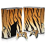 Linyuan 安定した品質 T0339* Skin Decal Wrap Sticker for Microsof XBOX360 SLIM Console+2 Controllers