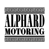 アルファード モータリング ステッカー ブラック 黒