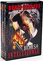 Boris Karloff Rarities Collection Juggernaut/British Intelligence/Sabaka (3-DVD) [並行輸入品]