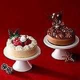 ルタオ (LeTAO) クリスマスケーキ ノエルデュオ~ぬくもりが繋がる時~ ペールノエル ベルニュイ 各1個(計2個セット) 直径12cm 4号