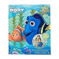 Finding Dory Puzzle Floor Puzzle Set 46 PC Big Jigsaw Finding Dory Puzzle 3 Ft Puzzle by Disney
