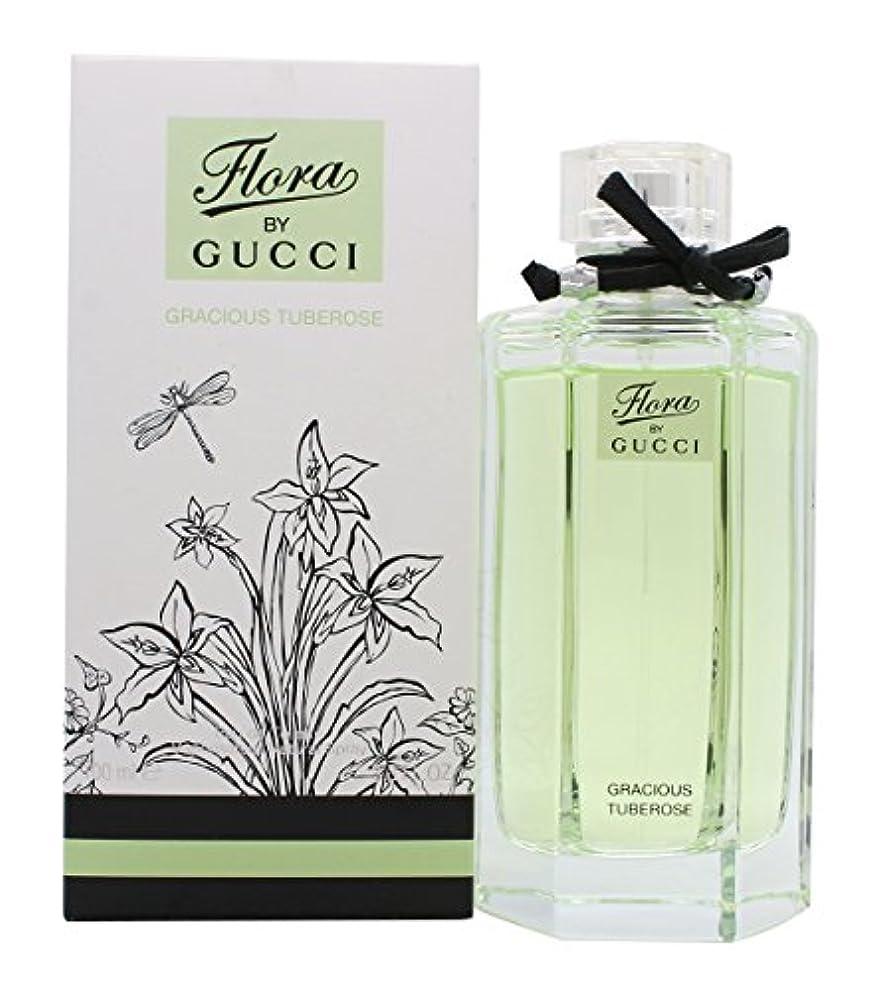 鳴り響く足音切手グッチ Flora by Gucci Gracious Tuberose EDT Spray 100ml/3.3oz