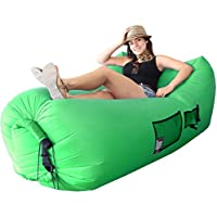 Best Selling Woohoo 3.0 Giant Outdoor Inflatable Lounger with Carry Bag – Air Lounger – エアソファ – Patent Pending – 簡単に凸レンズ新しいテクノロジー