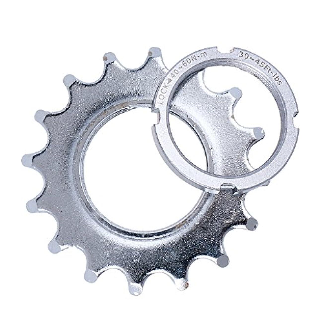 親指マークされた職業Perfeclan 自転車 スプロケット 固定ギア ピストトラック ロックリング メンテナンス用 交換部品