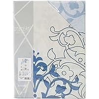 【ロマンス小杉】 ロマンスアミー 敷き布団カバー シングルロング (105x215cm) ブルー 1-5532-5752-5700