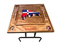 Dominican Republic Domino Table With the Map -3D